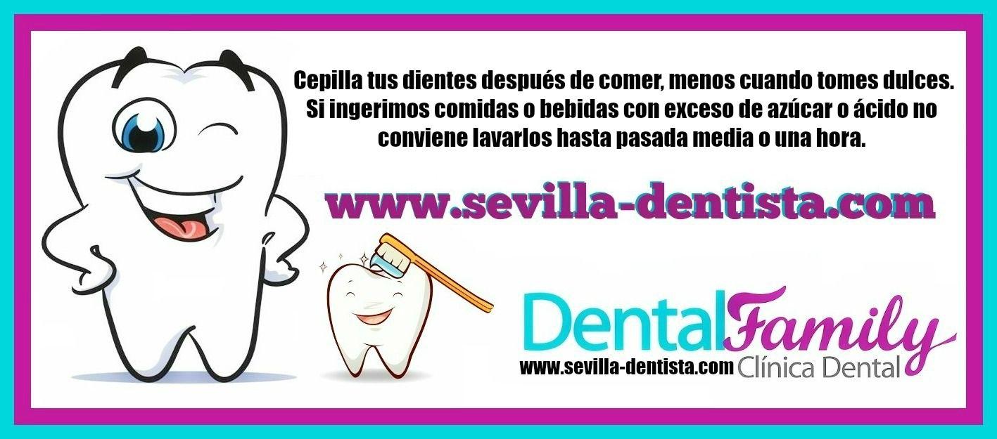 ¡¡Vamos con nuestro consejo del lunes!! ¡¡Pide cita ya en http://www.sevilla-dentista.com/pedir-cita-dentista-sevilla…!! #ConsejosClínicaDentalFamily #FelizLunes #DentistaSevilla #Sevilla #Dentista #Salud #DentistaNiños #Niños #SaludInfantil #SaludDental #HigieneBucal #Ortodoncia #Odontología #Dientes #Dulces