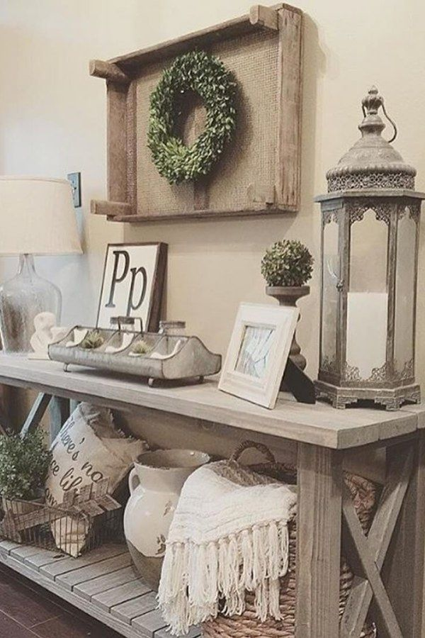 Rustic Home Decor For Your Dream