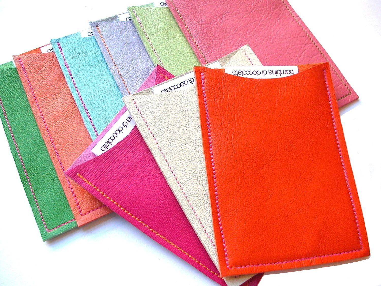 easy DIY Sasha Leather Business Card Holder, Leather ...