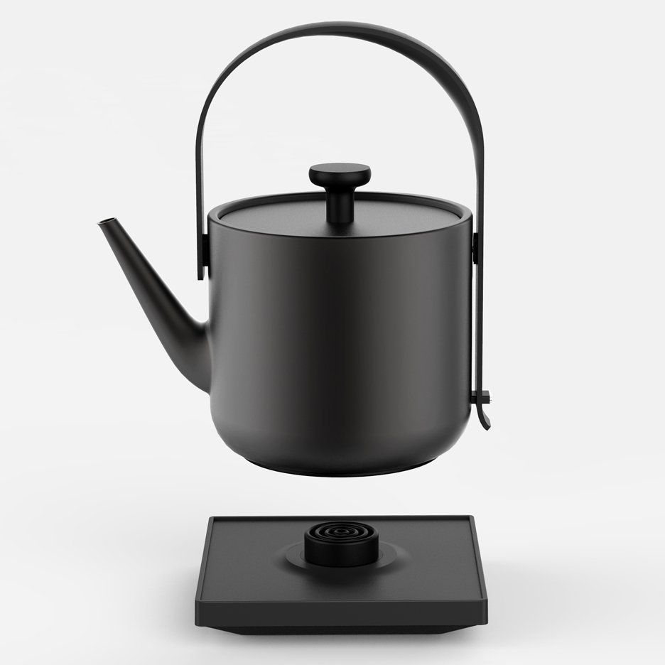 Royal Kitchen Design: Teawith Kettle By Keren Hu Is Designed For The Living Room