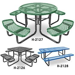 Metal Bolt Down Picnic Tables 650oo 720oo Mounting