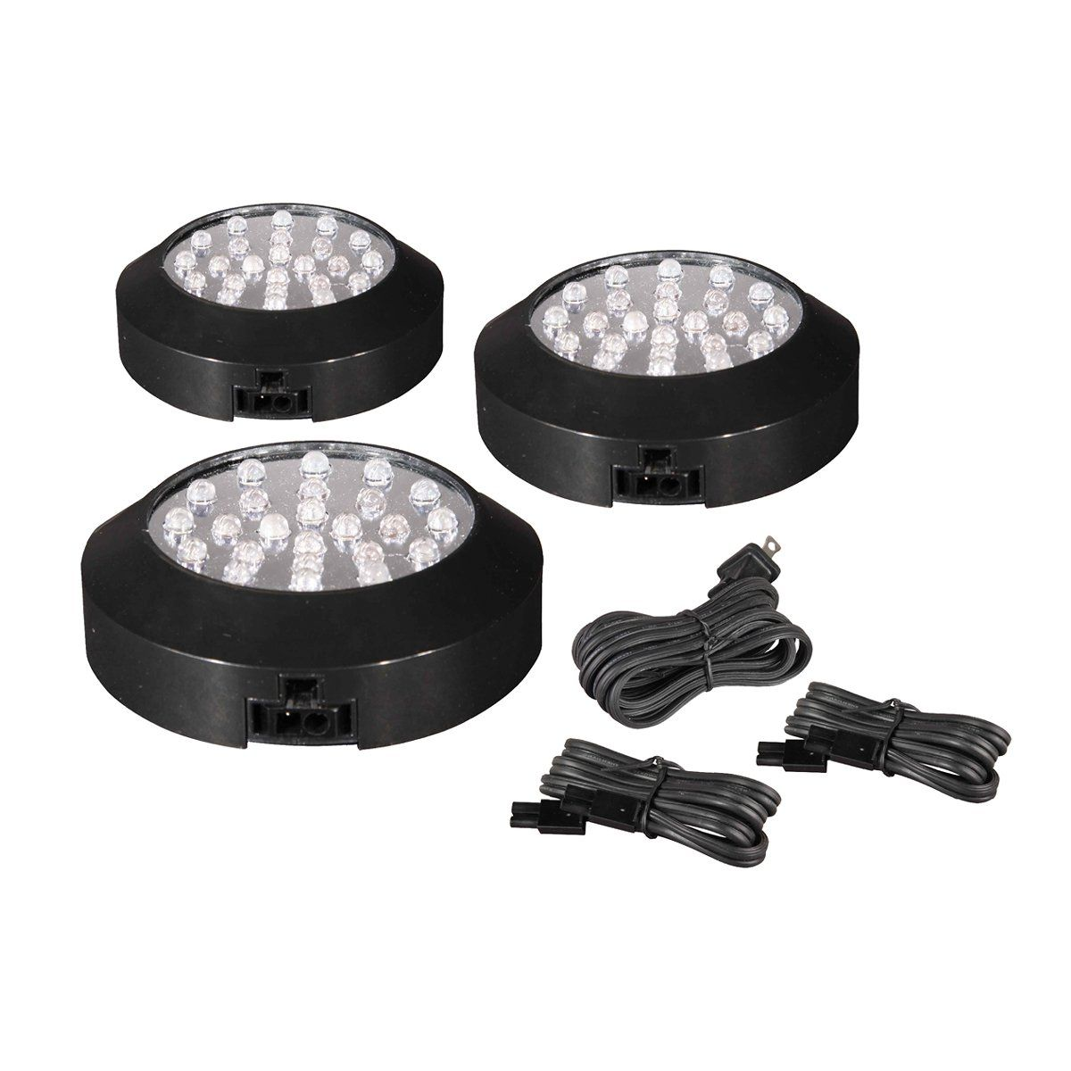 Maxim Lighting 87883SV CounterMax™ MX LD Under Cabinet LED Puck Light  Multi Pack