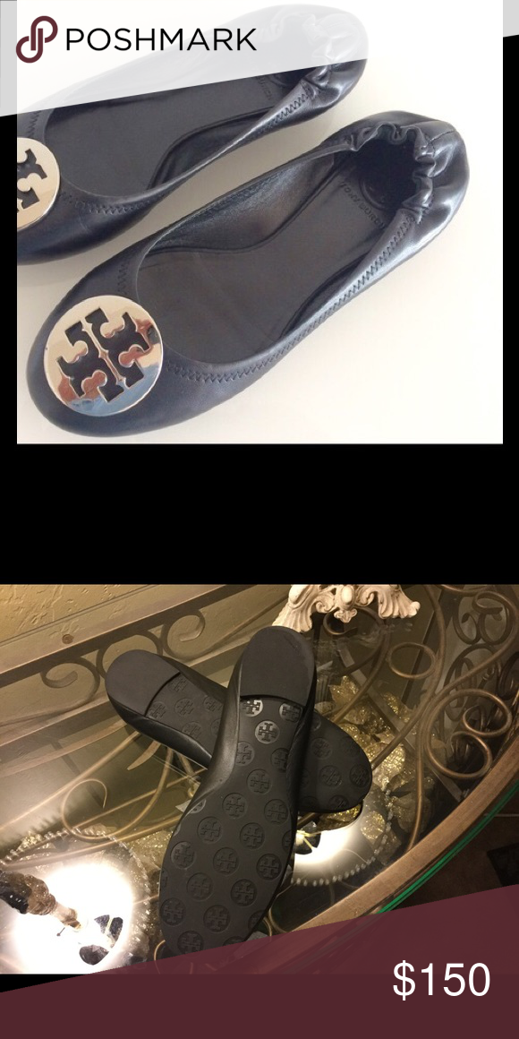 fcd19c8d064 Tory Burch Reva Ballet Flats 10.5M The iconic Reva Ballet Flat — named  after Tory s