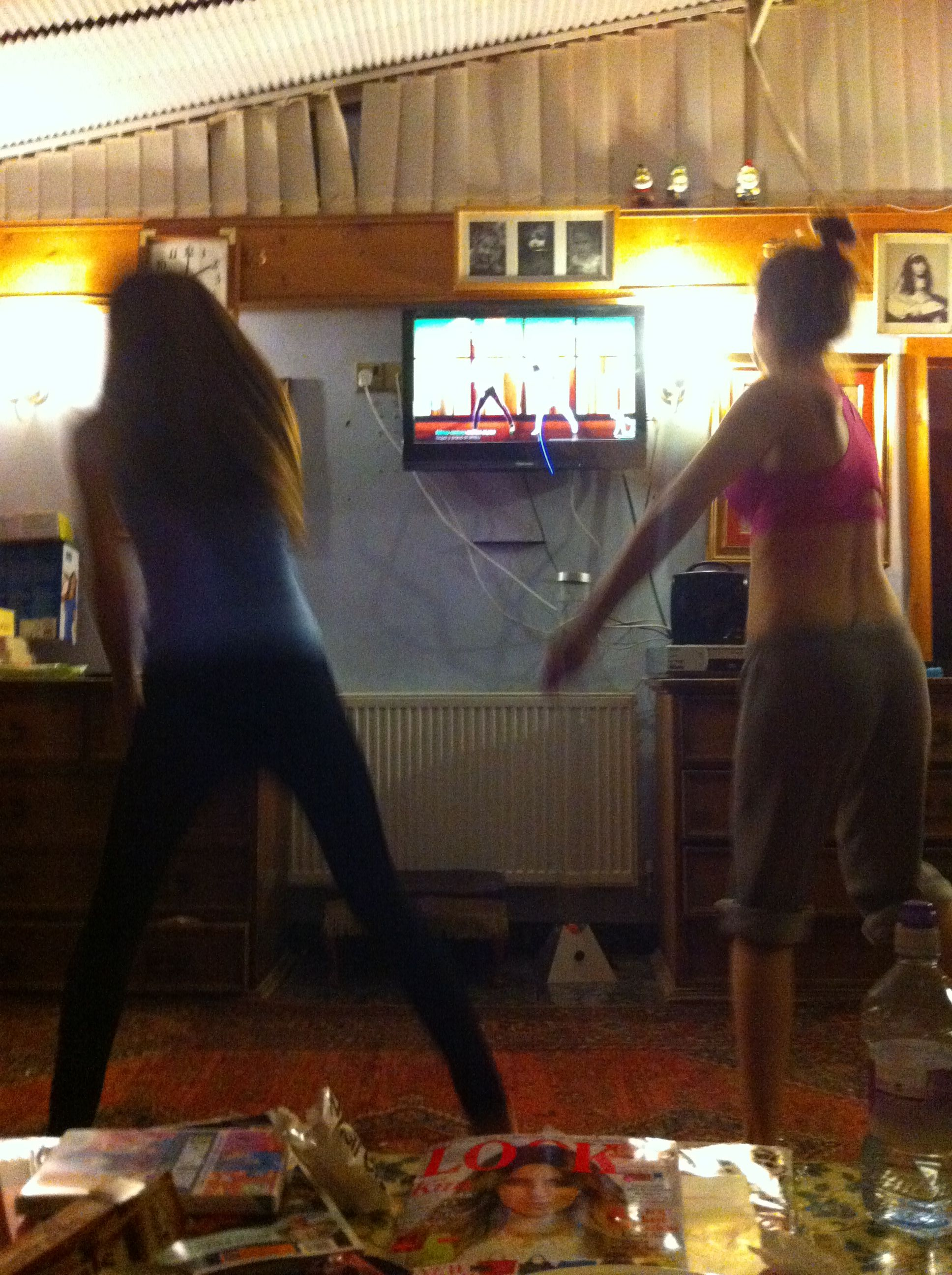Just dance workout - tal&kelly
