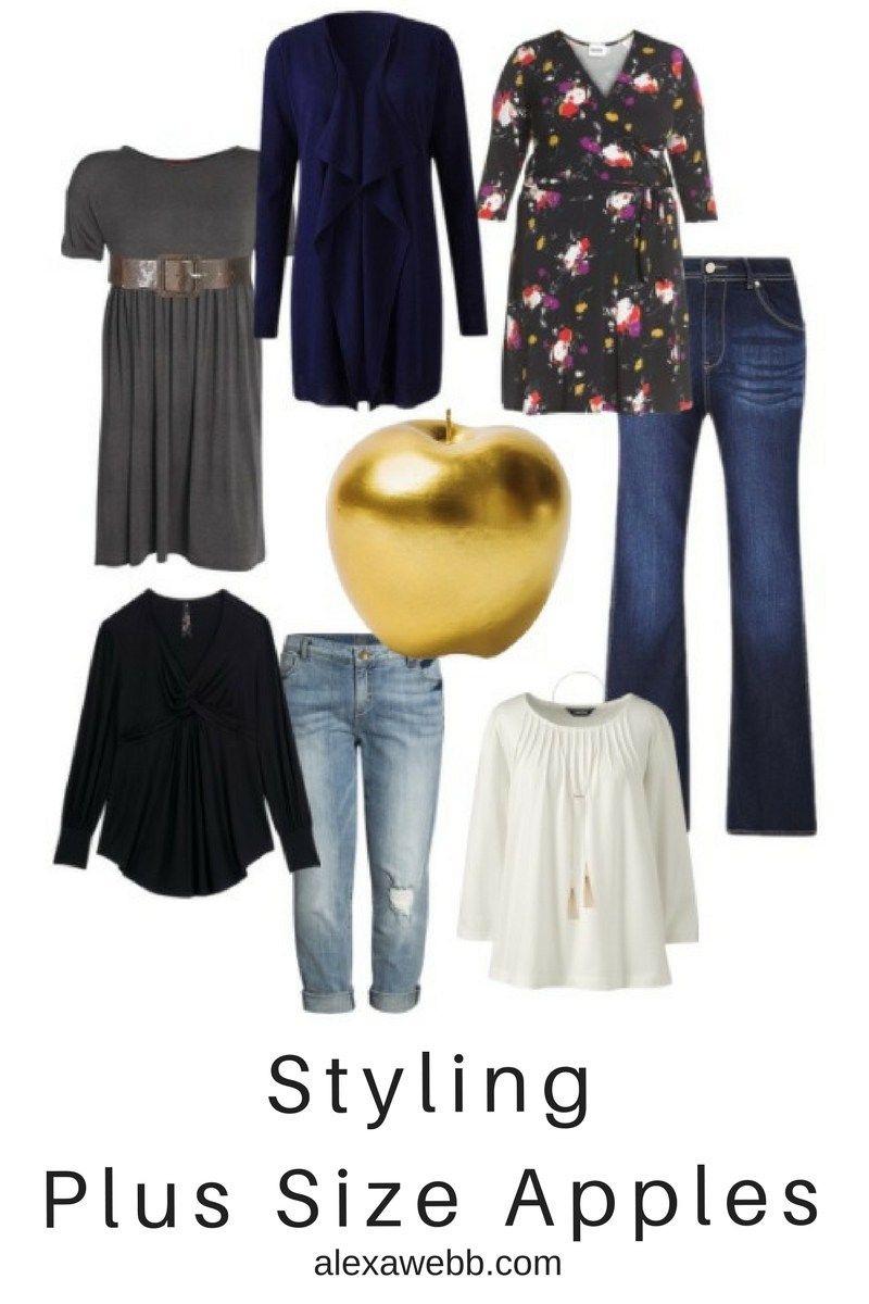 44ba1e5138 Styling Plus Size Apple Shapes - Plus Size Fashion for Women - alexawebb.com