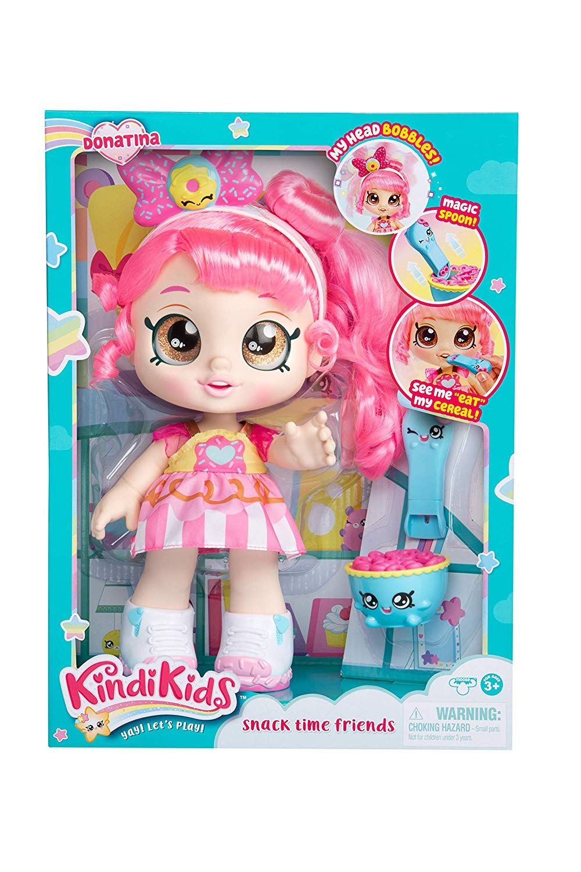 "Kindi Kids Snack Time Friends HOT Jessicake Pre-School 10/"" Doll NEW!!!"