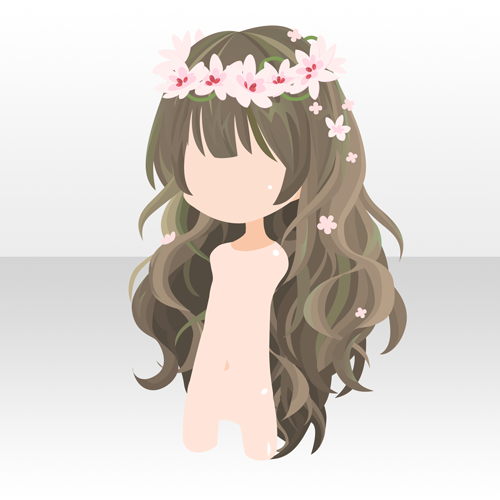 flower girl chibi love