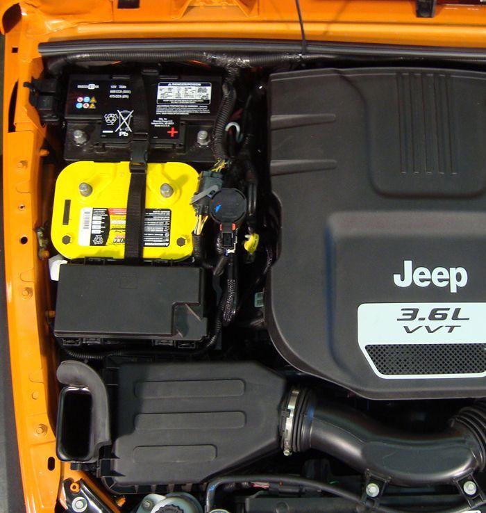 Jeep Dual Battery Tray For 12 Wrangler Jks From Mountain Off Road M O R E Jeep Wrangler Jk Jeep Wrangler Jeep Jku