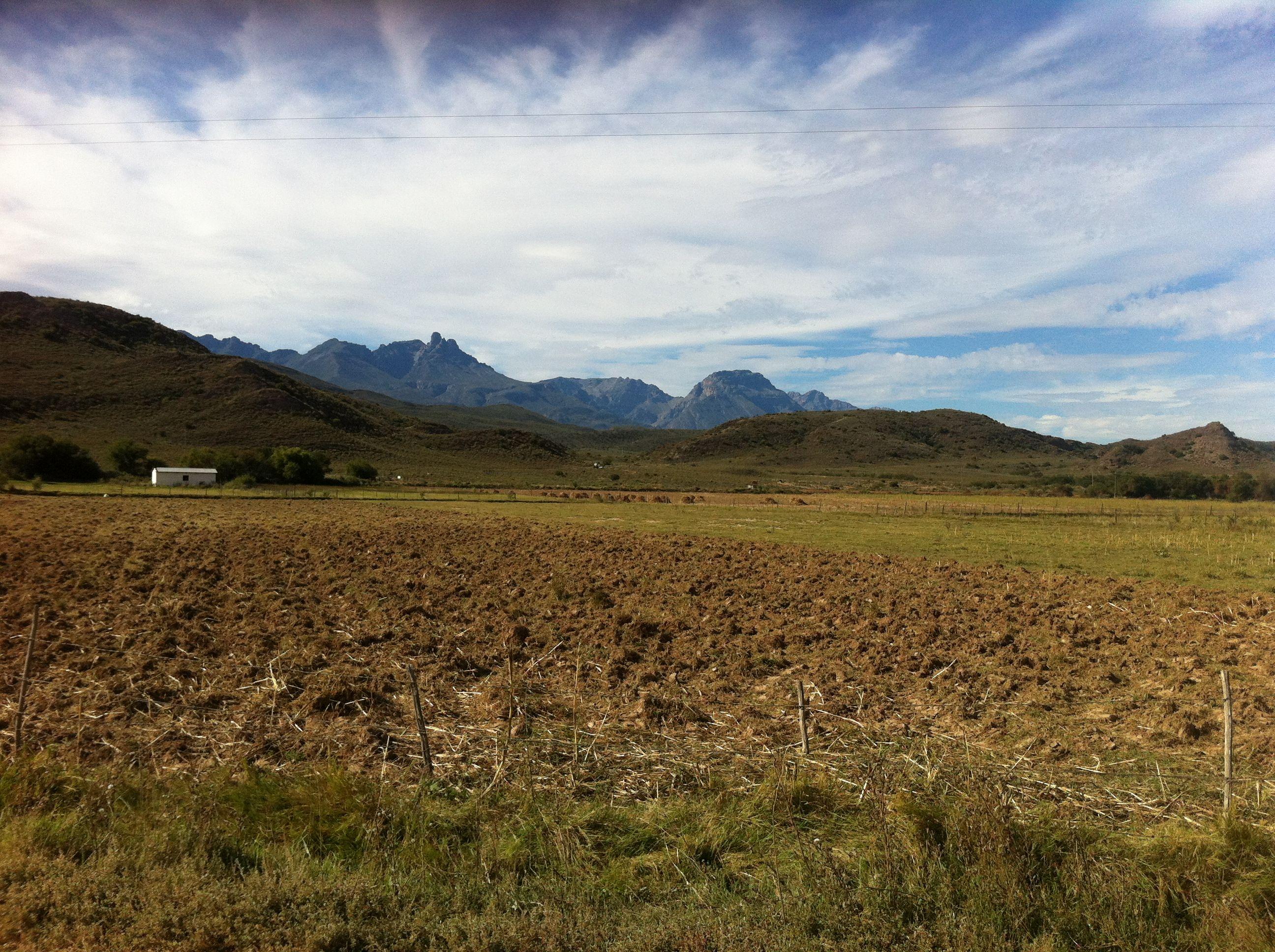 Vistas of Towerkop in the Klein Karoo, Western Cape, South