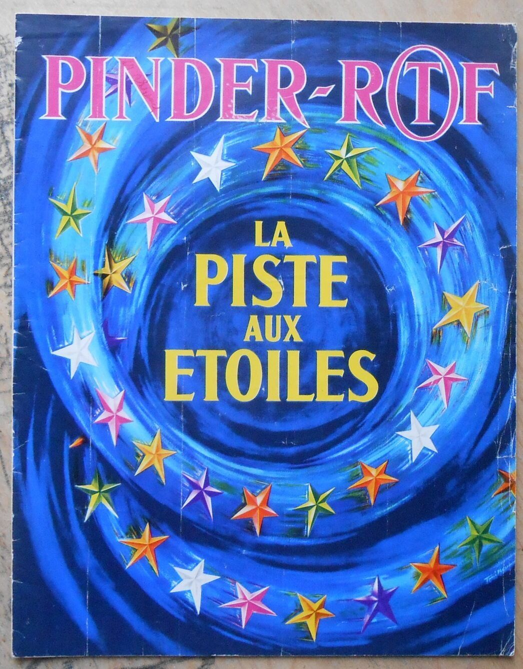 Programme Du Cirque Pinder Ortf La Piste Aux Etoiles Ebay Cirque Ebay Programming