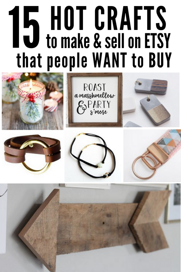 Hot Craft Ideas to Sell on Etsy Diy crafts to sell on