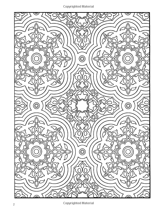 Pattern Coloring Pages Coloring Patterns Printable ColoringMates ...