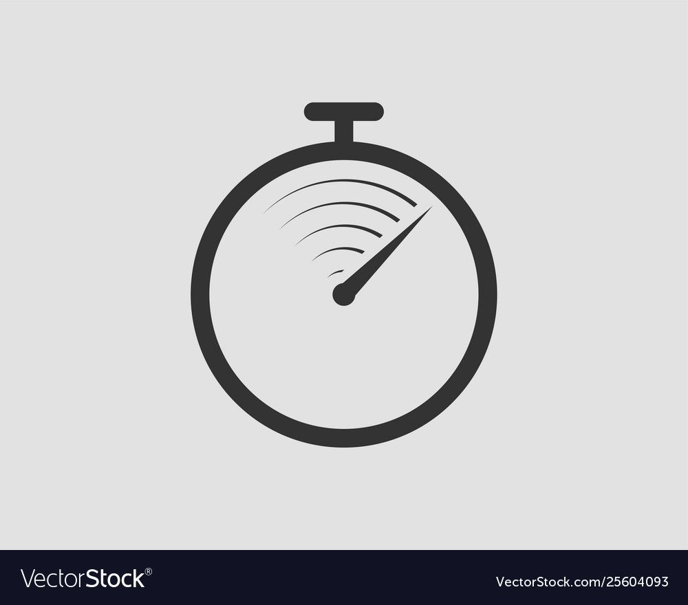 Timer Icon Stop Watch Pictogram Stopwatch Vector Image Sponsored Stop Wa Blue Fabric Texture Striped Wallpaper Vintage Social Media Graphics Inspiration