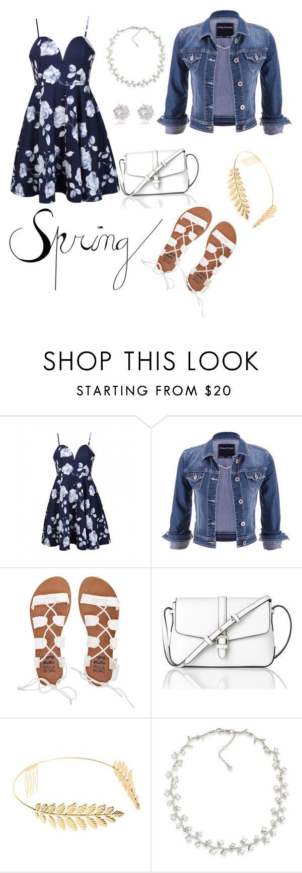 """Untitled #126"" by paigeromano ❤ liked on Polyvore featuring Ally Fashion, maurices, Billabong, L.K.Bennett, Cara, Carolee and River Island"