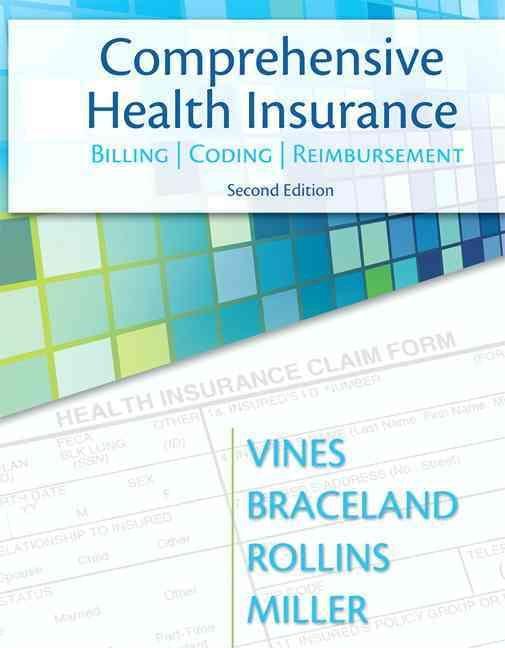 Comprehensive Health Insurance Billing, Coding, and Reimbursement