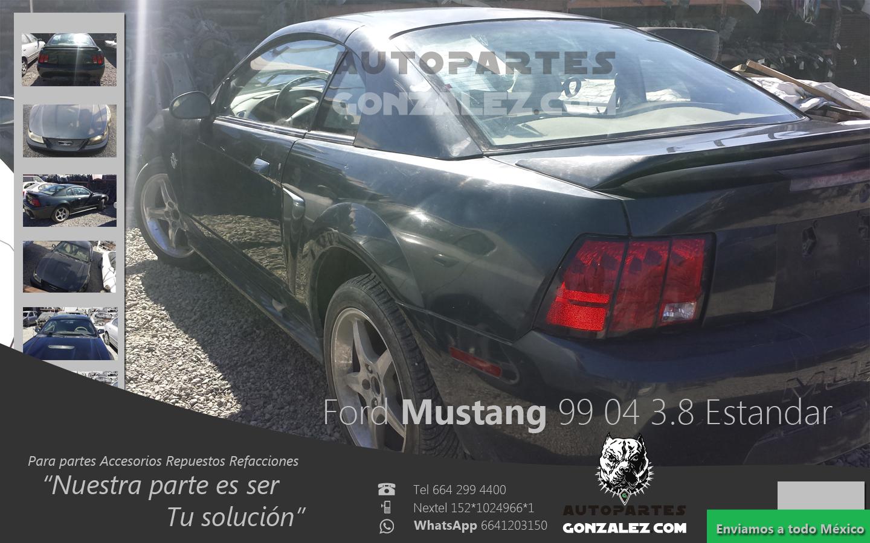 Ford Mustang 99 04 3 8 Estandar Para Partes Accesorios Repuestos