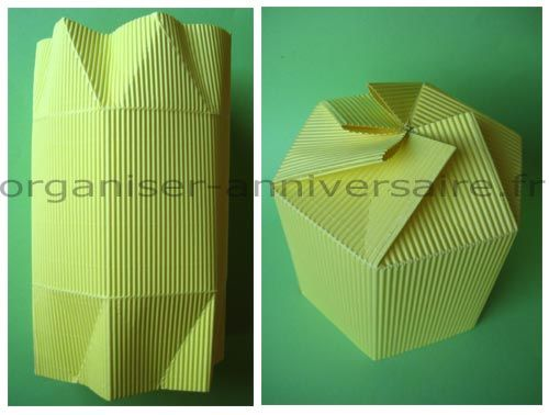 Box gift diy avec patron pour d coupage et pliage pliages pinterest pliage d coupage - Pliage papier cadeau ...