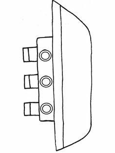 Kleurplaten Vervoer Peuters.Kleurplaat Peuter Kleurplaat Boot Kleurplaten Nl Kdv