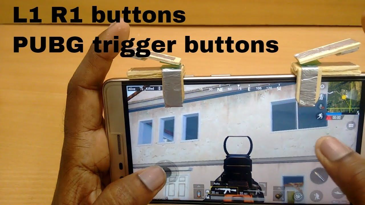 How To Make Pubgfortniteros Trigger Buttons At Home Diy