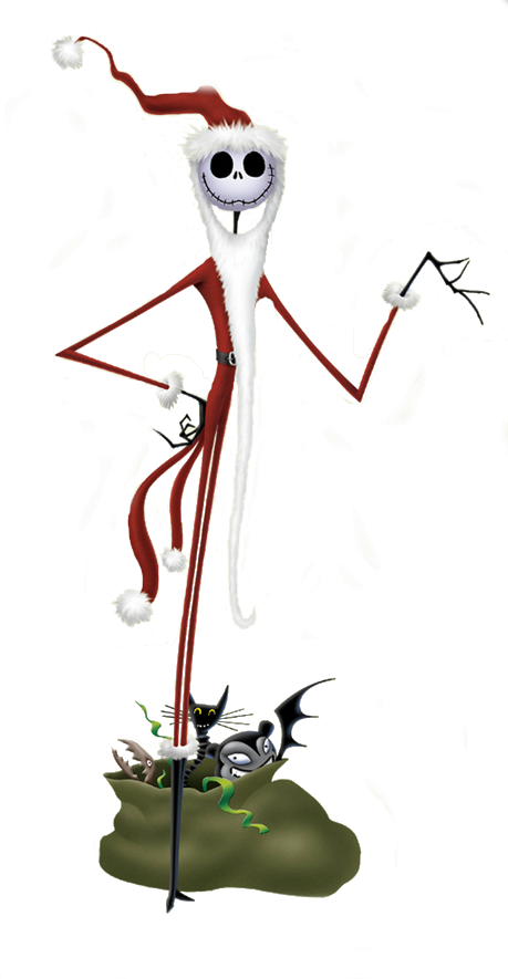 Jack Skellington Gallery Jack Skellington Jack Skellington Santa Nightmare Before Christmas