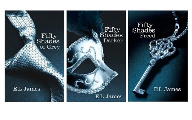 Novel Fifty Shades Of Grey All The Volumes I Would Say That It Is Worth Reading Lol