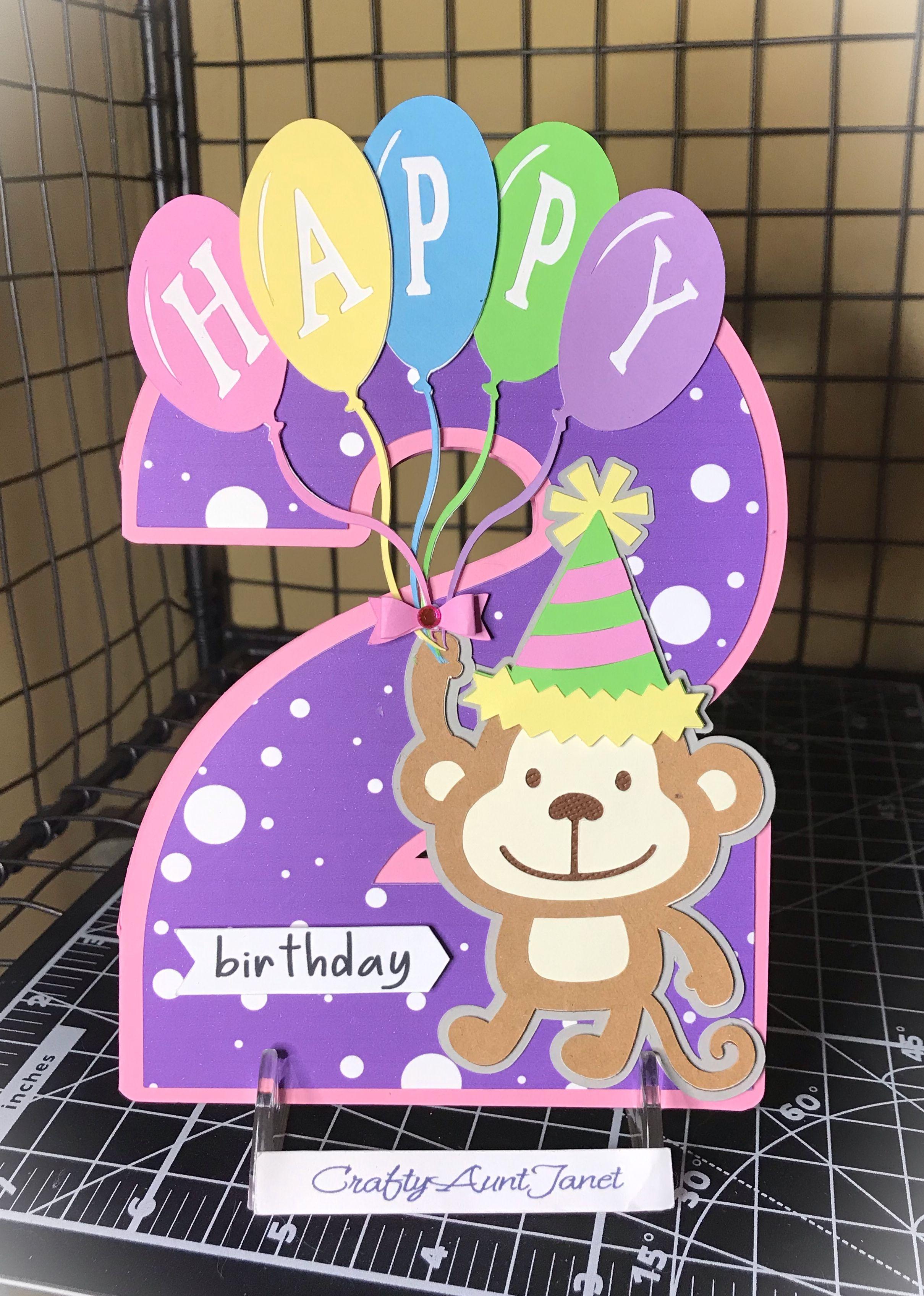 Birthday Card Cricut Birthday Cards Kids Birthday Cards Kids Cards
