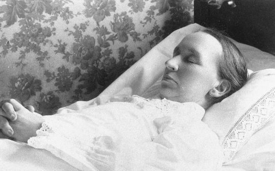 post mortem photography from Norway - circa 1910-1920