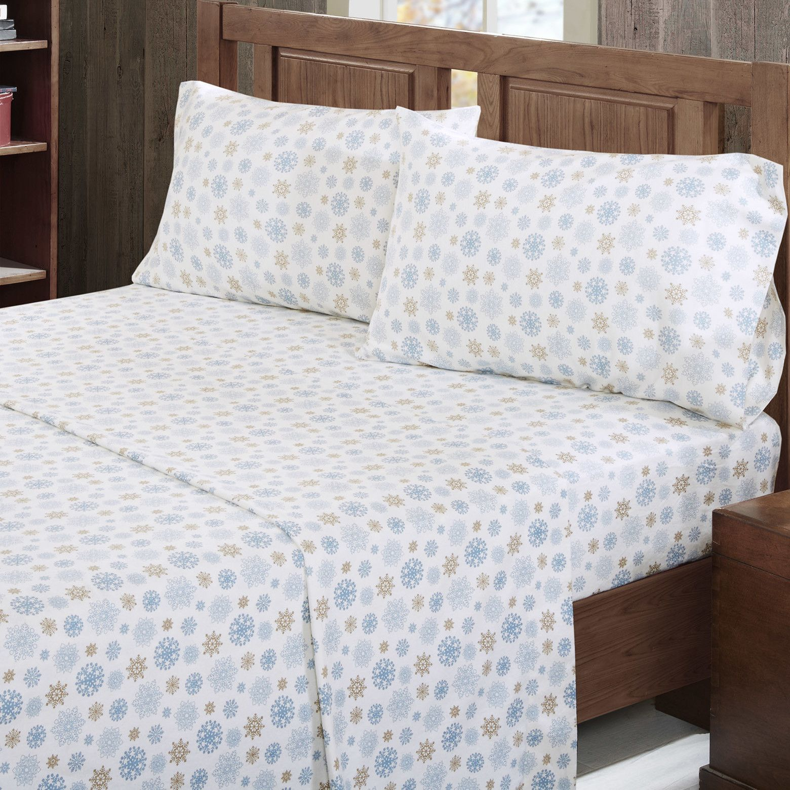 thread count cotton flannel sheet set products