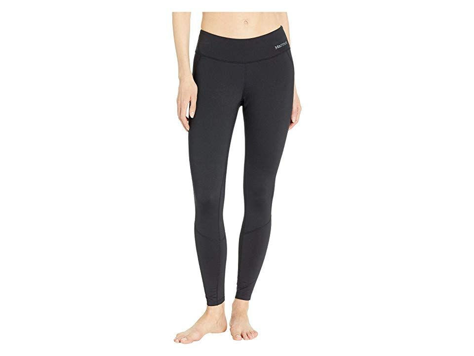 Marmot Heavyweight Nicole Tights Black Womens Casual Pants Dont let cold weather falter your outdoor plans in the performanceready Marmot Heavyweight Nicole Tights Fitted...