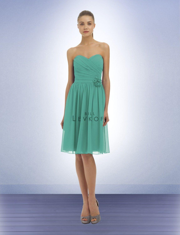 Bill levkoff bridesmaid dress style wedding dresses
