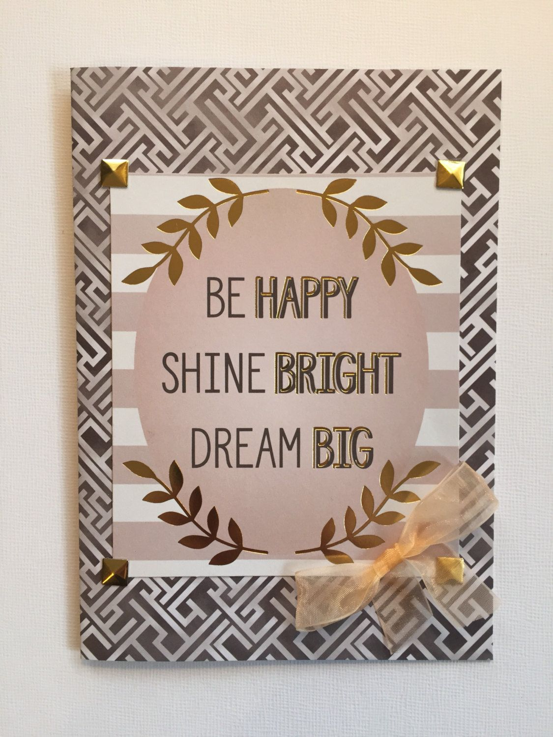 Inspiration Card Encouragement Card Happiness Greeting Card
