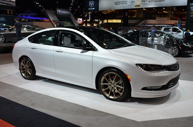 The All New Mopar Modified 2015 Chrysler 200 With Images