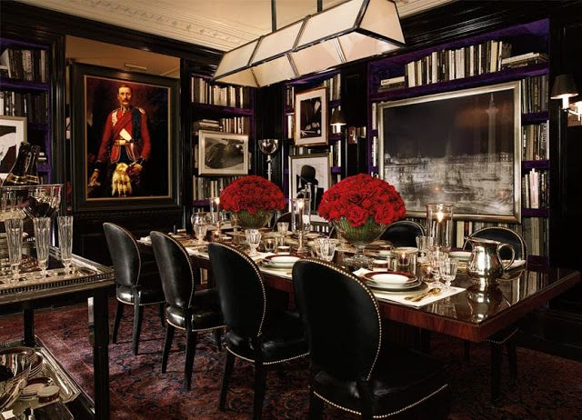 If Ralph Lauren decorated Apt One at Kensington Palace