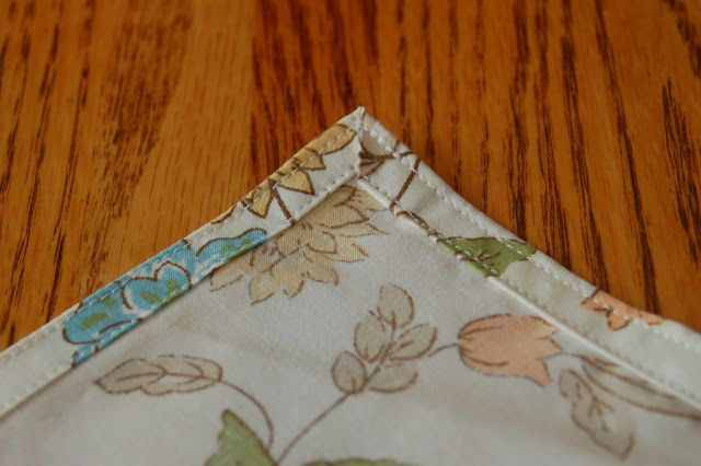 Blissfully Content: Make Your Own Everyday Cloth Napkins