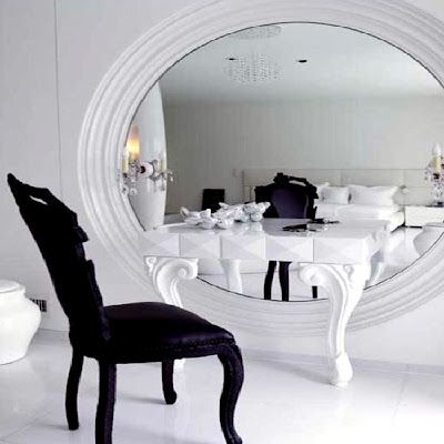 Mirror, mirror, on the wall... Now THIS is what you call a vanity!