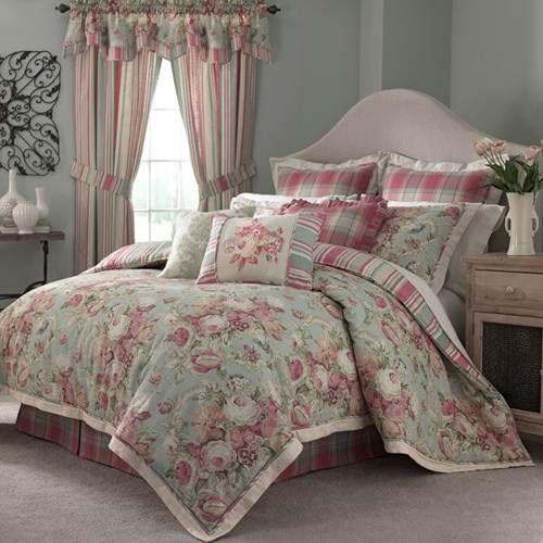 Queen Waverly Spring Bling Bedspread, Waverly Bedding Set Queen
