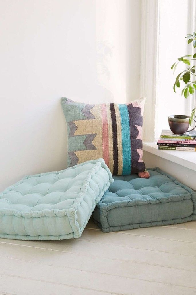 Floor Pillows Can Be Used In Corners