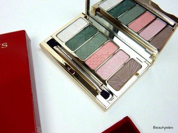 Spring Makeup Pt 2: Eyes - Clarins Garden Escape Palette Eye Shadow Palette for Spring 2015