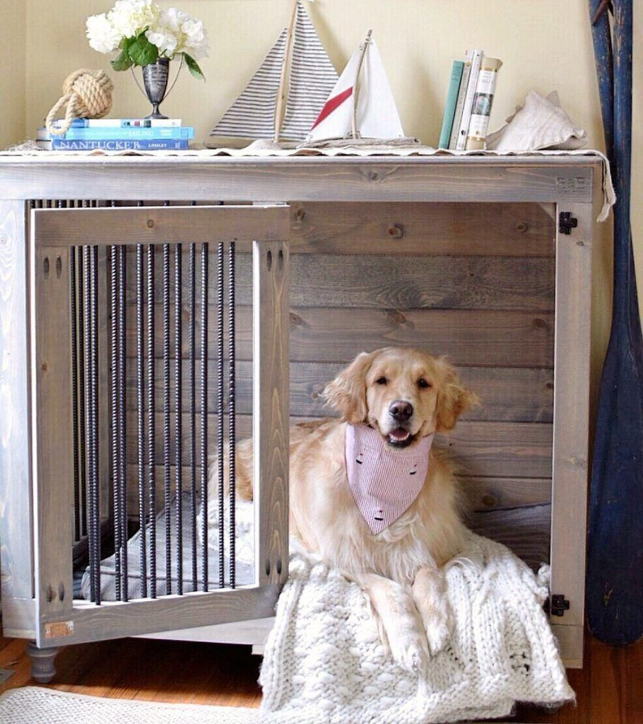 Dog Crate Ideas Indoor Dogcrateideasindoor Plasticdogcrates Puppy Love Diy Dog Kennel Diy Dog Crate Dog Crate Furniture