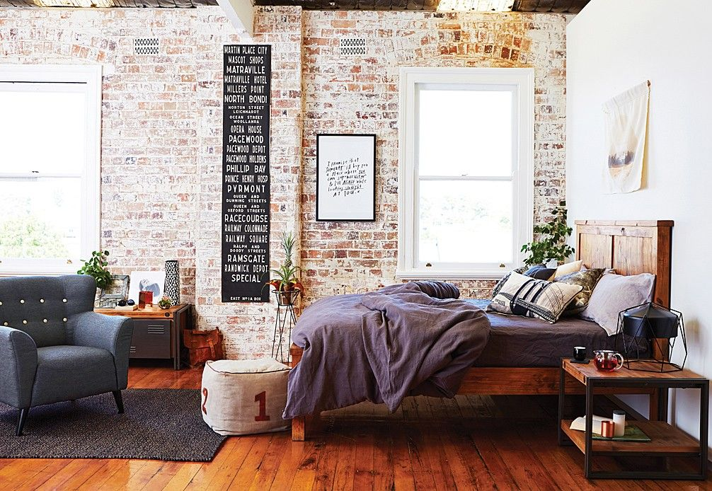Industrial Queen Bed Super A Mart With Images Elegant