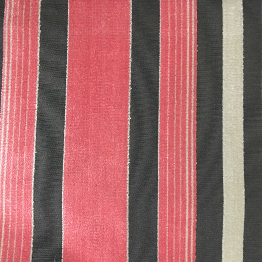 Upholstery Fabric - Richmond - Coral - Cut Velvet Home Decor Upholstery & Drapery Fabric by the Yard - Available in 12 Colors