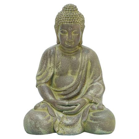 Abolla Dented Bone Sphere Sculpture #buddhadecor