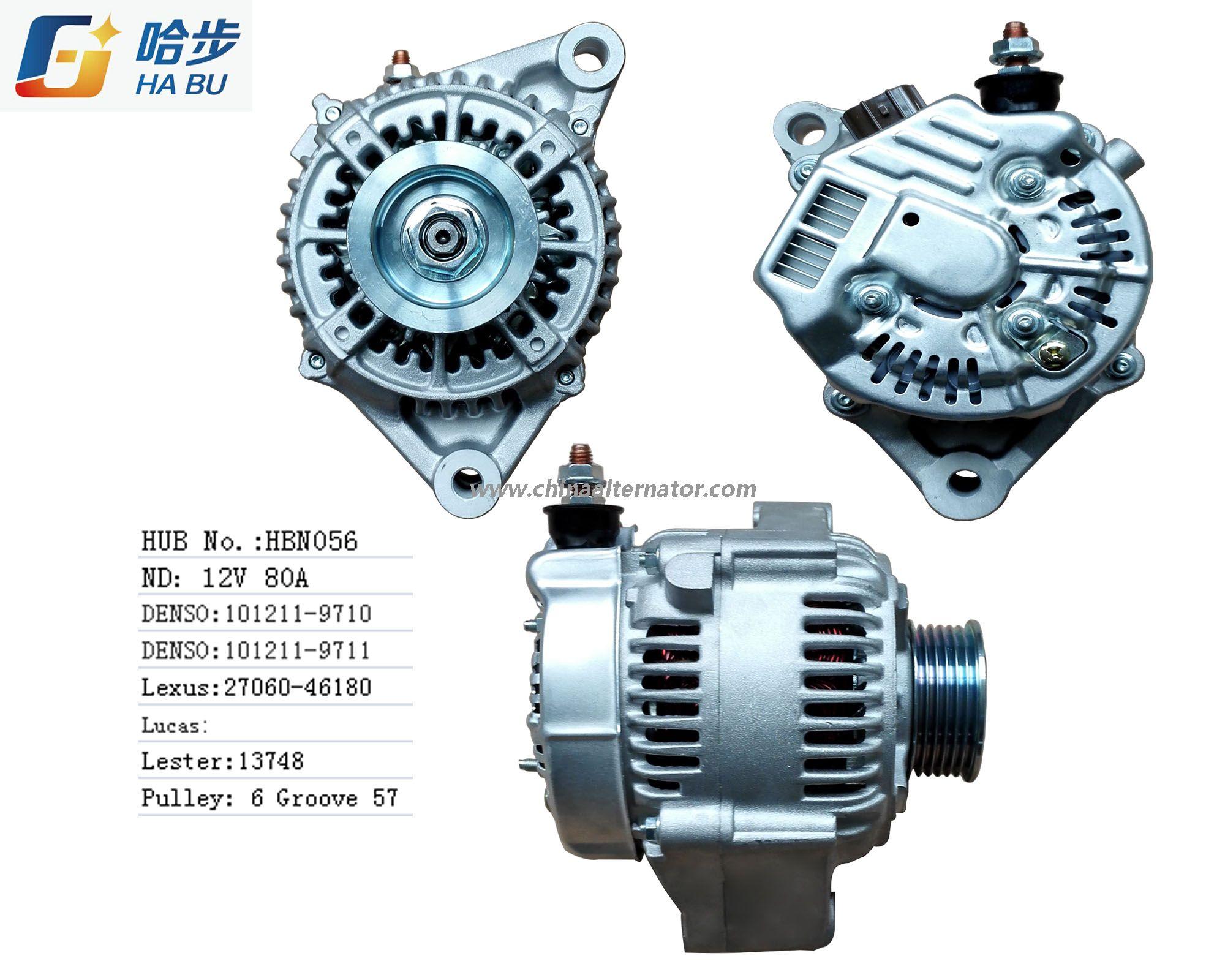 Alternator For Lexus Sc300 101211 9710 13748 Alternator Car Alternator Lexus