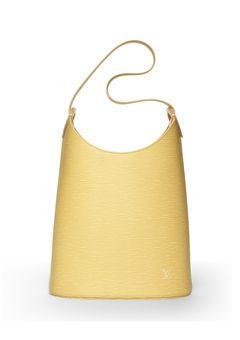 LOUIS VUITTON Cream Epi Verseau Bag