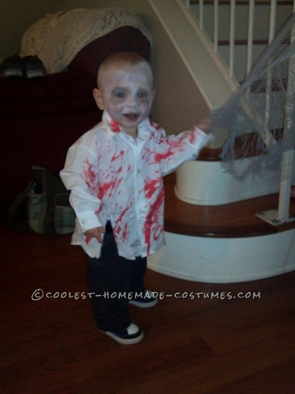 Zombie Halloween Costumes For Toddlers.Coolest Zombie Toddler Homemade Halloween Costume Idea