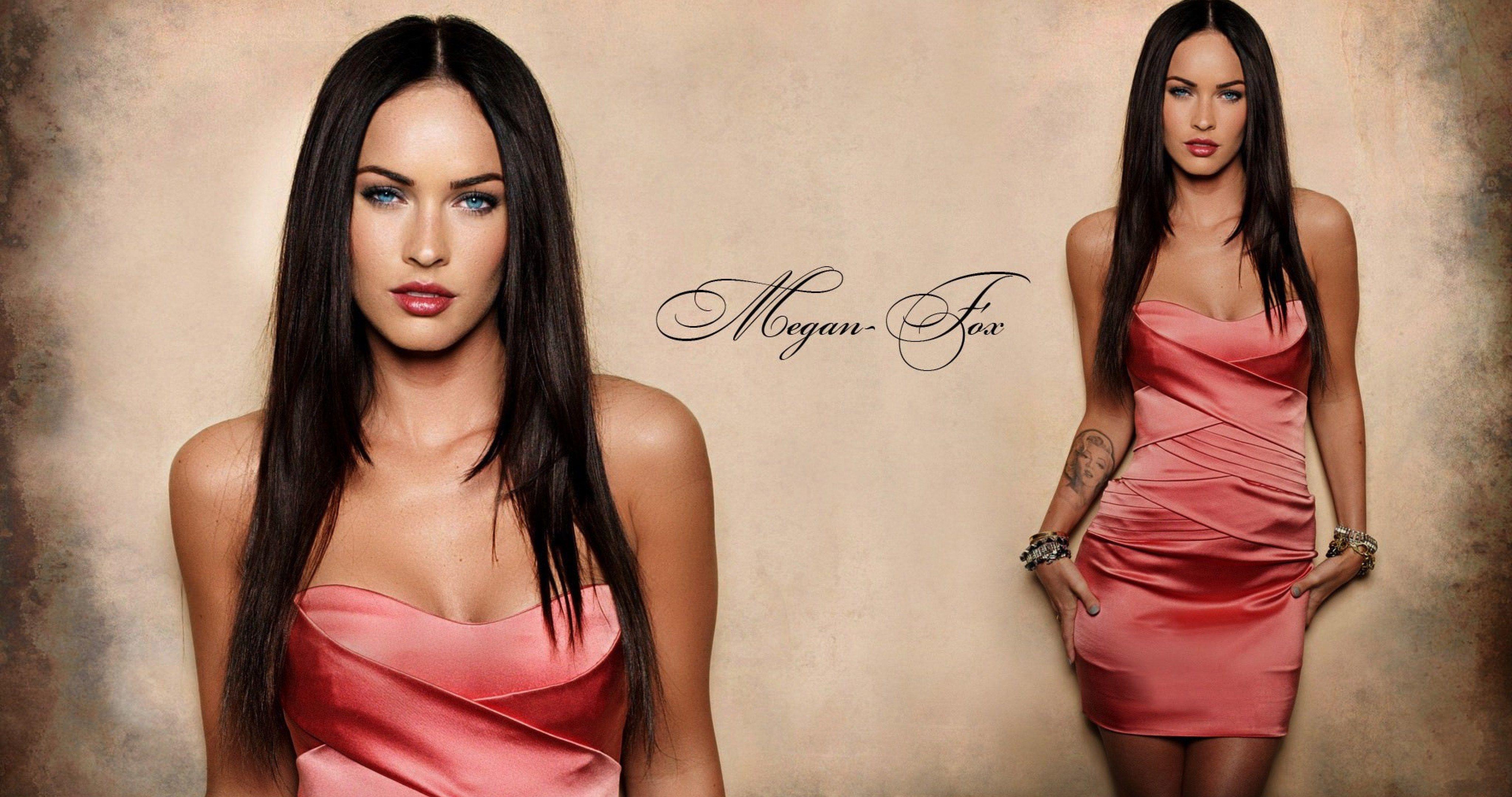 Megan Fox Marilyn Monroe Tattoo 4k Ultra Hd Wallpaper Megan Fox Megan Fox Wallpaper Beautiful Celebrities