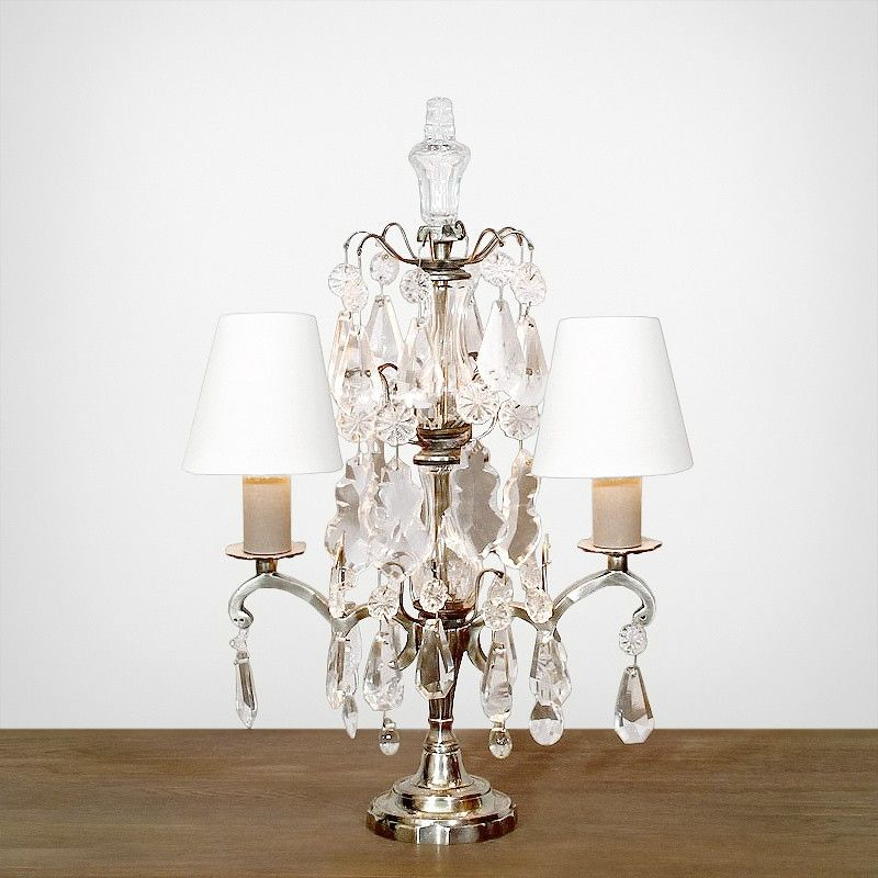 Hollywood table lamp http www momu com au index · french linensglass crystalantique