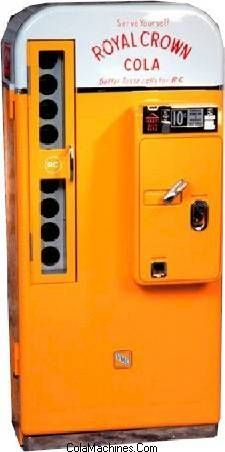 Produced by the Vendolator Manufacturing Company from the mid to late 1950s, the Royal Crown 81 is one of the most sought after Coke Machines today.