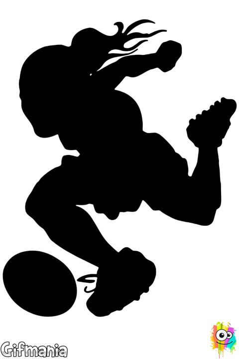 jugadora de fútbol #futbol #jugadora #dibujo | Dibujos | Pinterest ...