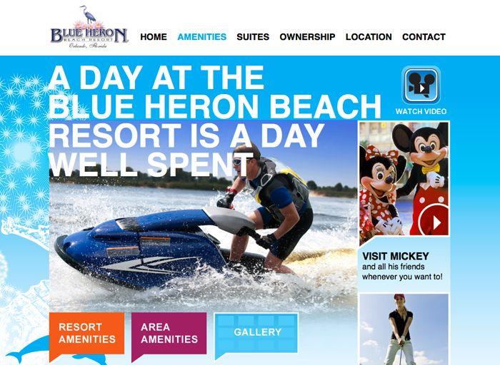 Blue Heron Beach Resort Condos  (blueheronresortcondos.com) — ©PM Design and Marketing